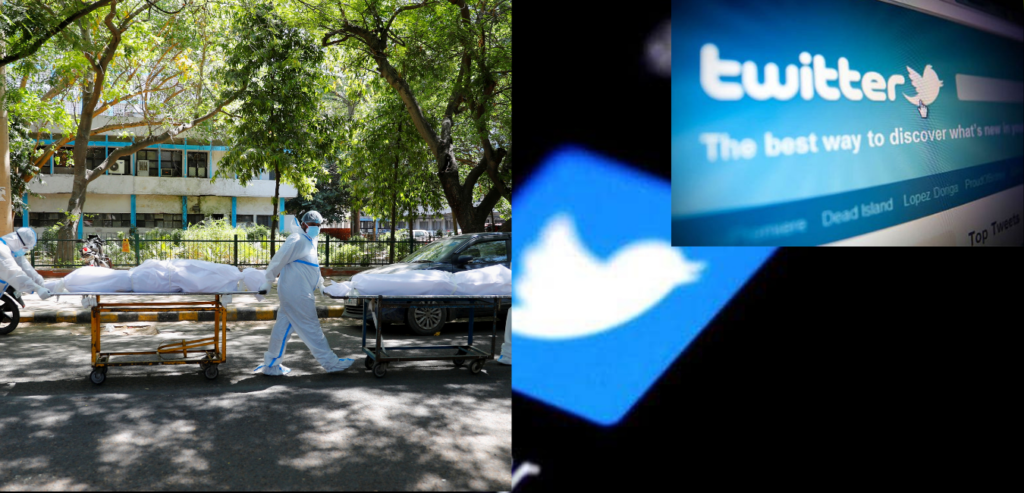 Government asks Twitter to block some tweets about Covid-19