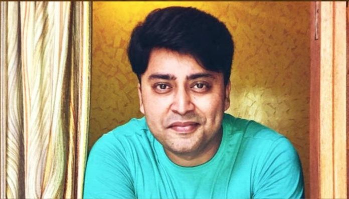 Video of actor Rahul Vohra before death