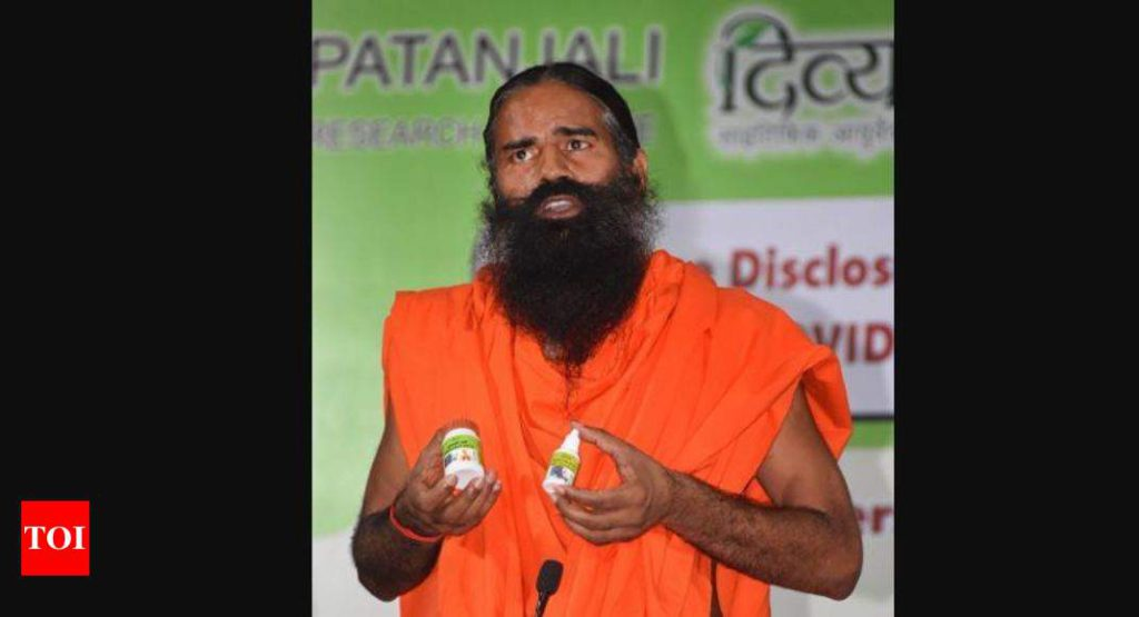 Haryana to Give 1 Lakh Kits of Ramdev's Coronil to Covid-19 Patients