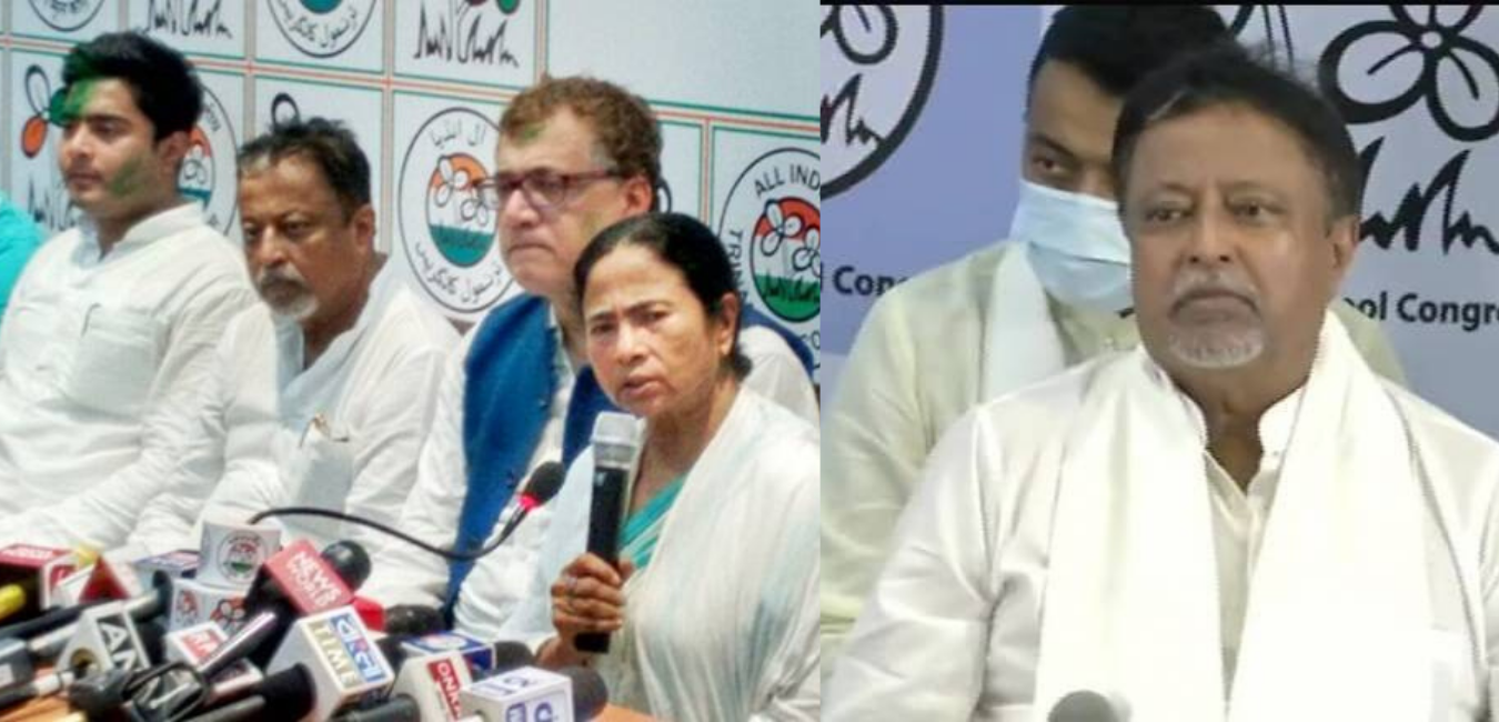 Mukul Roy Returns to Trinamool fold after Four Years