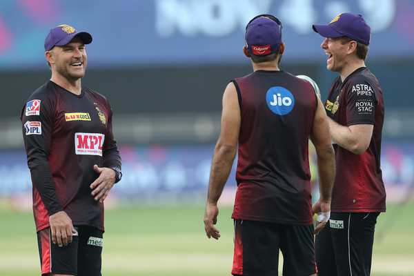 Action on Morgan and McCullum, making jokes on Indian accent