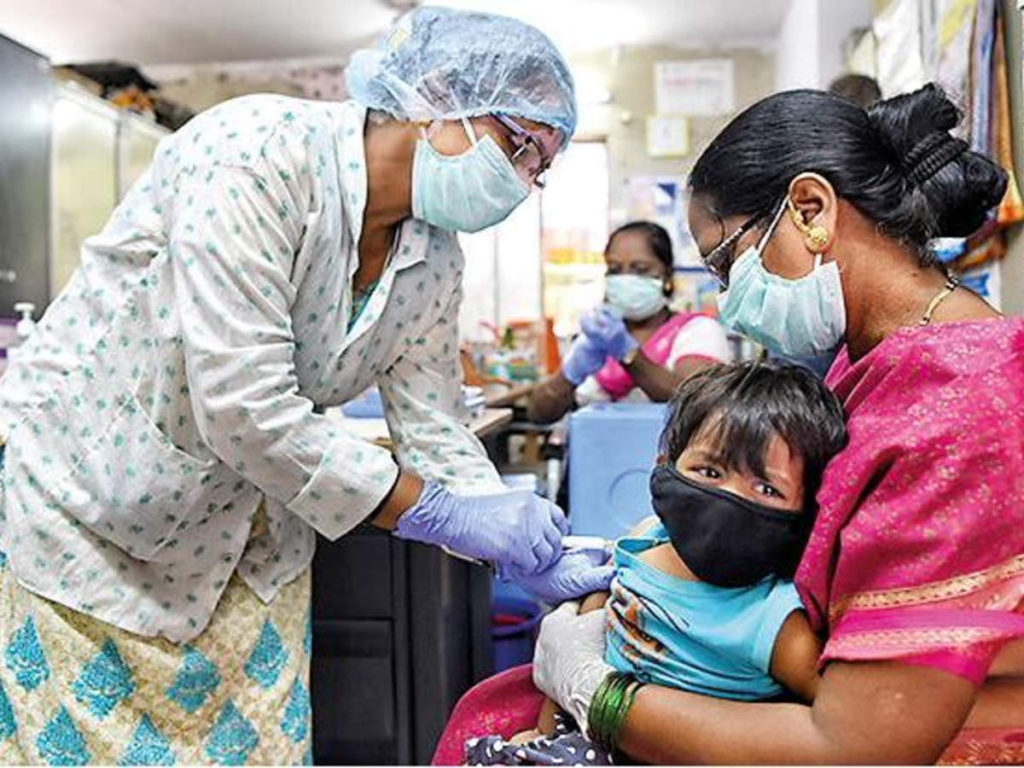 Influenza vaccination of children must be done before monsoon