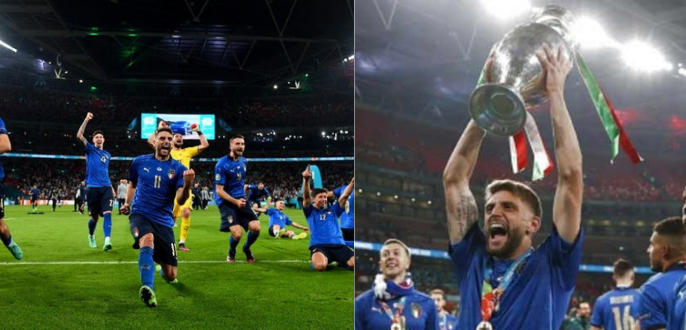 Italy won the title by defeating England in the penalty shootout